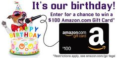 WIN a $100 Amazon.com Gift Card #giveaway #win