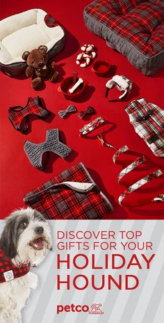 Spread the spirit of the season to your favorite furry friend with the Heritage Collection. Classic, plaid styles adorn dog beds, bowties, harnesses and more, giving your holiday hound a little festive flair. Shop the 2017 Petco Gift Guide today.