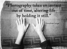 Quote by Dorothea Lange - via http://petapixel.com/2014/05/29/70-inspirational-quotes-photographers/