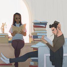 Awesome interracial couple illustration #wmbw #bwwm #swirl
