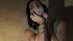 """""""Censor"""" art for Magic: The Gathering's Amonkhet  Artist name is John Stanko"""