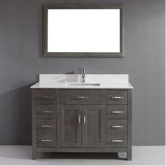 "Vanity Bathroom Costco for the bathroom to the pool $899.99 @costco marshall 48"" single"