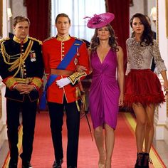 They're a force to be reckoned with. Take note, Cyrus. A juicy new episode airs tonight at 10 The Royals Serie, Fashion Tv, Fashion Details, Royal Tv Show, Queen Wilhelmina, William Moseley, Alexandra Park, King Robert, Tv Show Outfits