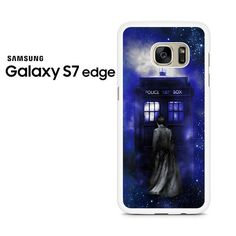 Bluetardis Tenth Doctor Dr Who In Space Samsung Galaxy S7 Edge Case