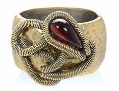 Oscar de la Renta Cuff Bracelet - http://elegant.designerjewelrygalleria.com/oscar-de-la-renta/oscar-de-la-renta-cuff-bracelet/