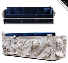 Ltd. edition Versailles sofa by Boca do Lobo. Best of Milan Design Week 2012 by Yatzer. http://www.bocadolobo.com/ #design #MDW