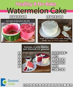 Enjoy a healthy cake without compromising on taste !! Tailor-Made recipe for this summer !!