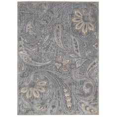 In an arresting array of traditional and tribal designs expressed in radiant color palettes, this compelling rug will bring both grace and glamour to any interior. This rug boasts a  transitional design that will complement any home decor.