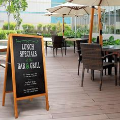 Lunch Specials, Daily Specials, Journey Store, Chalkboard Stand, A Frame Signs, Sandwich Board, Coffee Shop Design, Blackboards, Sidewalk