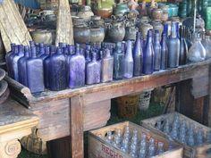love, love bottles for decorating