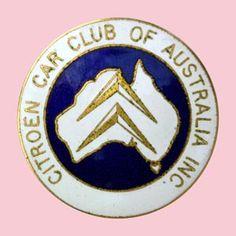 Citroen Car Club of Australia Inc. Large Car Badge • Citroen Societe South Australia