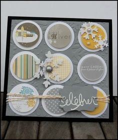although I can't read a WORD of this blog....love the card layout....which is why I tagged it.....simple and classic....