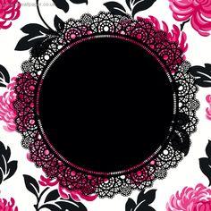 Pink and black ruffle #freelabel #labeldesign #eveiolabel #owndesign #girlylabel #vintagelabel #cutelabel #blackandpink #cutelabel
