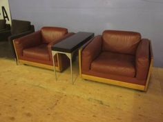 Cassina Leather Chairs $700/ea