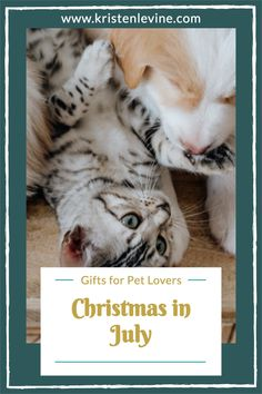 This Christmas in July, show off your love of pets! Here are Pet Living's favorite gifts for pet lovers. #christmasinjuly #gifts #doggifts #catgifts #dogs #cats Christmas Gifts For Pets, Christmas Animals, Christmas In July, Gifts For Pet Lovers, Cat Gifts, Cat Lovers, Unique Toys, Unique Gifts, Owl Cat