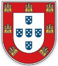 Portuguese shield - Flag of Portugal - Wikipedia, the free encyclopedia Camino Portuguese, Portuguese Empire, Portuguese Culture, Cr7 Portugal, Portuguese Tattoo, Benfica Wallpaper, Archangel Tattoo, History Of Portugal, Portugal National Team