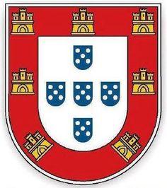 Portuguese shield - Flag of Portugal - Wikipedia, the free encyclopedia Camino Portuguese, Portuguese Empire, Portuguese Culture, Armor Tattoo, I Tattoo, Cr7 Portugal, Portuguese Tattoo, Benfica Wallpaper, Archangel Tattoo