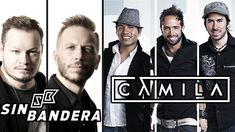 SIN BANDERA Y CAMILA EXITOS, Sus Mejores Canciones