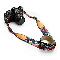 Floral Camera Strap -FABULOUS Stocking Stuff Gifts for Mrs. Traveler – California Globetrotter