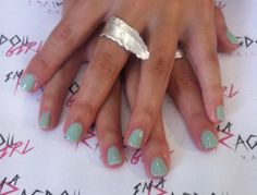 Mint Convertible Shellac. Perfection