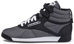 e3378bc0849 Cheap Monday x Reebok Freestyle (1) Completely obsessed with hi tops! Reebok  Freestyle