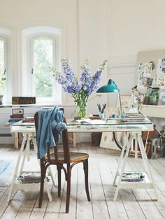 beautiful workspace