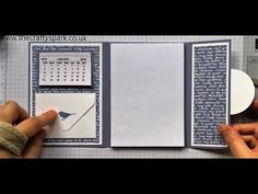 Covered Organiser Notebook Thank You Gifts Stampin' Up! UK - YouTube