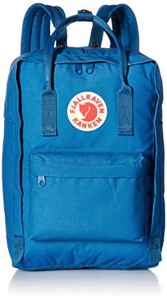Fjallraven Kanken Laptop Backpack, Lake Blue, 13-Inch Fjallraven http://www.amazon.com/dp/B00QQGQOBG/ref=cm_sw_r_pi_dp_ce7wwb0NSFV49