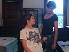 Hübsche Rothaarige Lesben Natasha und Vika
