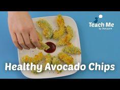 Teach Me: Healthy Avocado Chips - YouTube
