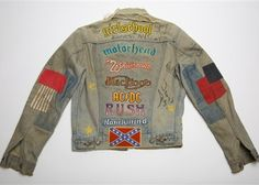 I have a little denim jacket that needs revamping...