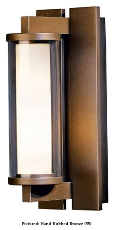 Hubbardton Forge 306450 Fuse Small 12 Inch Tall Exterior Sconce Lighting Fixture - HUB-306450