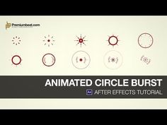 ▶ After Effects Tutorial: Animated Circle Burst - YouTube