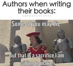 Image result for author talks meme
