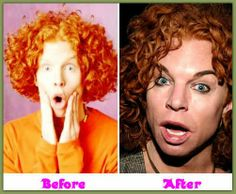 Carrottop B4 & After