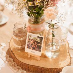 21 Beautifully Creative Ways To Use Polaroids On Your Wedding Day!