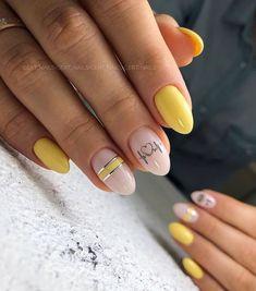Cute Nail Designs, Acrylic Nail Designs, Acrylic Nails, Stylish Nails, Trendy Nails, Nail Art For Kids, Almond Shape Nails, Nail Games, Cute Nail Art