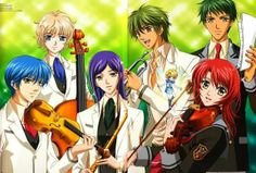 La Corda Doro Anime | kahoko hino is a student in the general education section of seiso ...