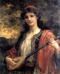 View Playing the lute by William Clarke Wontner on artnet. Browse upcoming and past auction lots by William Clarke Wontner. William Adolphe Bouguereau, John William Godward, Henri Fantin Latour, Spanish Gypsy, William Clark, Gypsy Girls, Academic Art, Pre Raphaelite, Artist Names