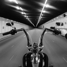"""213 Likes, 8 Comments - s t e f a n (@stefango_) on Instagram: """"Into the darkness #ThroughTheBars #apes #tunnel #Softail #SoftailBreakout #Breakout #HD…"""" #harleydavidsonbreakoutape"""