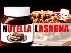 Nutella Lasagna - Epic Meal Time - YouTube