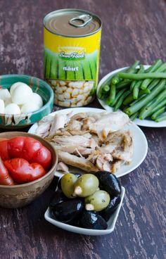 Salata cu naut si pui - Din secretele bucătăriei chinezești