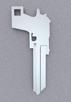Key to the gun safe