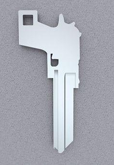 Key to the gun safe