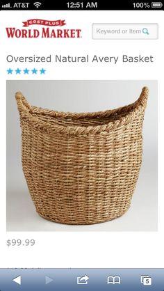 Images About Baskets On Pinterest Woven Baskets Market Baskets