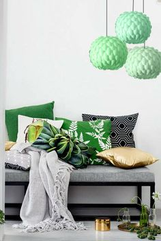 Check out these beautiful shots from HM Home new Spring Summer collection Along with some nice-looking deals for every room, the collections Decor, Decor Collection, Plastic Spoons, Home Collections, Stylish Room, Round Hanging Lights, Decor Inspiration, Home Decor, House Interior