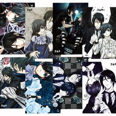 Camplayco Black Butler Posters Placard Cosplay (a set of 8) -- Read more at the image link.