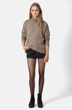 Cocoon Funnel Neck Sweater