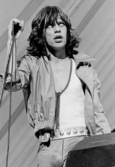 Mick Jagger, Milwaukee 1975