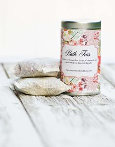 Bath Tea with Skin Softening Coco Butter & por JennyBeanCandles